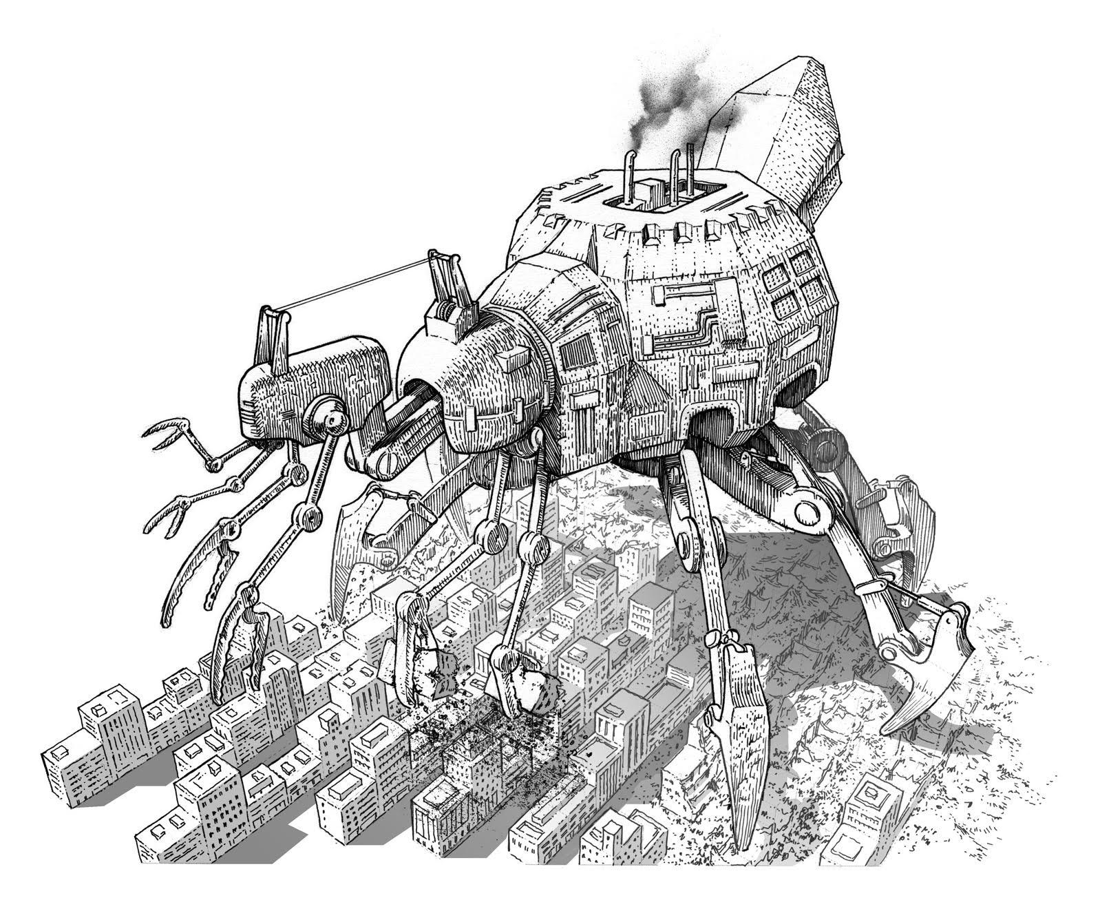 Robot in città